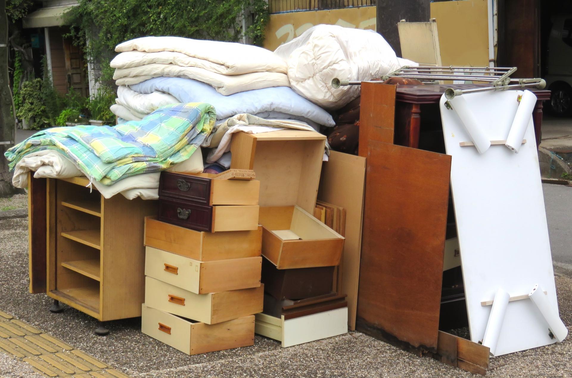 家具の粗大ゴミ