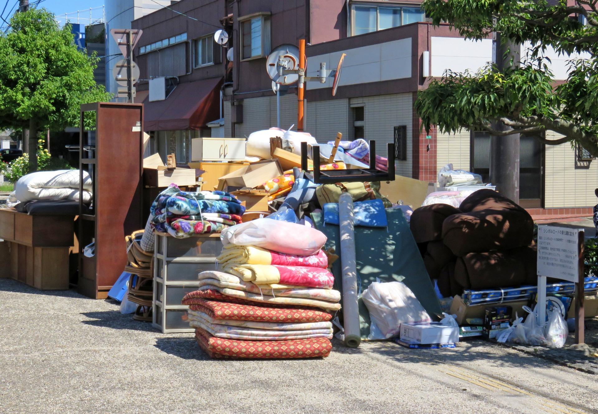 引っ越しごみの処分方法